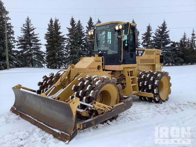 2007 Cat 815F2 Soil Compactor, Compactor