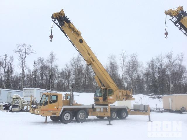 2000 (unverified) Grove TMS870 140,000 lb. Hydraulic Truck Crane, Hydraulic Truck Crane