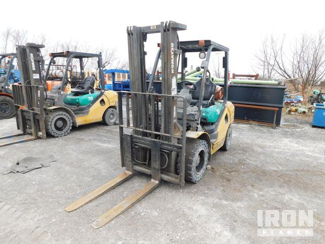 2006 Komatsu F G30HT-16 Forklift (INOP), Rough Terrain Forklift