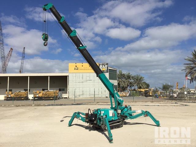 2014 Maeda MC285CRME-2 Telescopic Crawler Crane, Crawler Crane