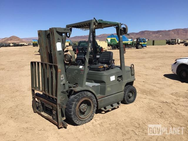 Hyster Pneumatic Tire Forklift, Forklift