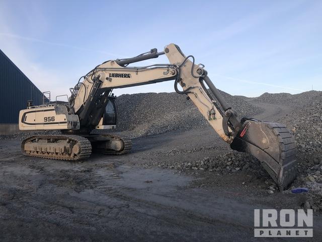 2016 Liebherr R956 LCV Track Excavator, Hydraulic Excavator