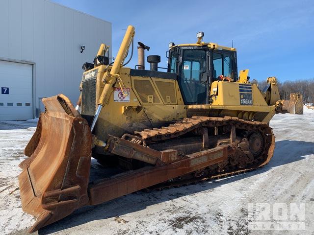 2014 Komatsu D155AX-7 Crawler Dozer, Crawler Tractor
