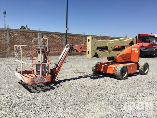 2016 JLG E450A Electric Articulating Boom Lift, Boom Lift