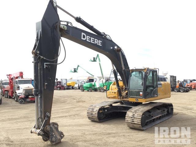 2019 John Deere 300GLC Track Excavator, Hydraulic Excavator