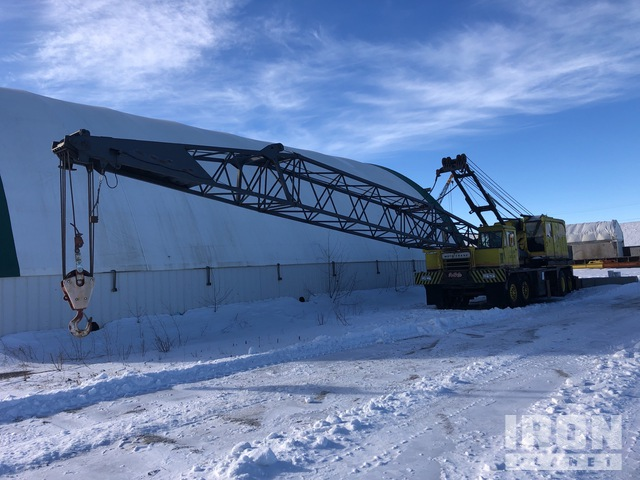 Lorain MC545-D Hydraulic Truck Crane, Hydraulic Truck Crane