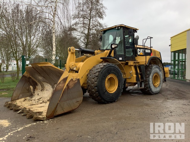 2015 Cat 966M Wheel Loader, Wheel Loader