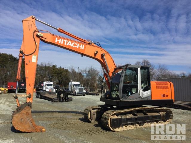 2011 Hitachi ZX160LC-3 Track Excavator, Hydraulic Excavator