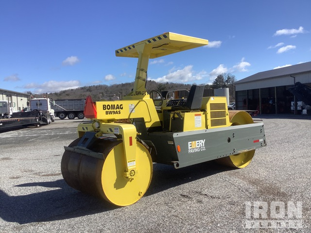 2008 (unverified) Bomag BW9AS Double Drum Roller, Tandem Roller