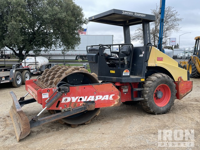 2010 (unverified) Dynapac CA152PD Vibratory Single Drum Compactor, Vibratory Padfoot Compactor