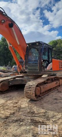 2017 Hitachi ZX350LCH-5 Track Excavator, Hydraulic Excavator