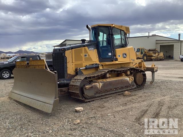 2012 John Deere 850K Crawler Dozer, Crawler Tractor