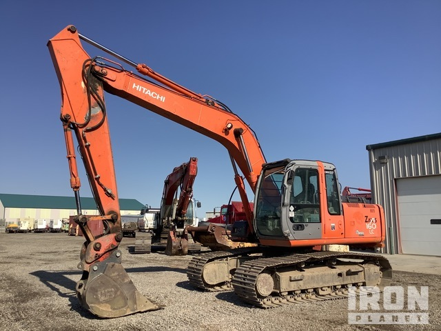 2007 Hitachi ZX160LC Track Excavator, Hydraulic Excavator