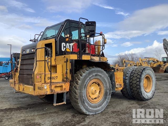 2015 Cat 772G Off-Road End Dump Truck, Rock Truck