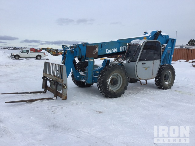 2006 Genie GTH-1056 4x4x4 10000 lb Telehandler, Telescopic Forklift