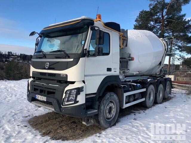 2019 Volvo FMX410 8x4 Mixer Truck