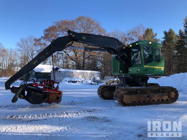 2013 John Deere 759JH Tilter Track Harvester, Harvester