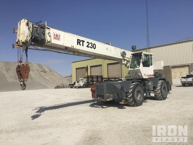 1994 Terex RT230 30 ton 4x4 Rough Terrain Crane, Rough Terrain Crane