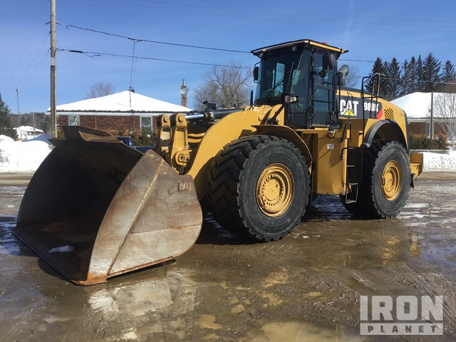 2013 Cat 980K Wheel Loader, Wheel Loader