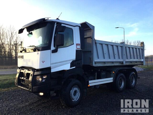 2017 Renault K480 6x4 Dump Truck, Dump Truck (T/A)