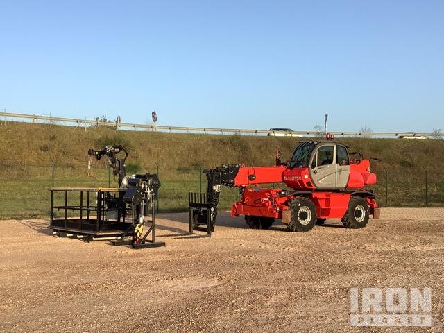 2015 Manitou MRT2540 Privilege 4x4x4 Rotating Telehandler, Telescopic Forklift