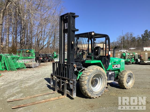 2016 (unverified) JCB 930-4 T4 6,000 lb 4x4 Rough Terrain Forklift, Rough Terrain Forklift
