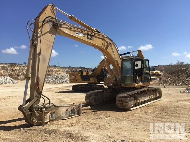 1995 Cat 330L Track Excavator w/E220 Hydraulic Hammer, Hydraulic Excavator