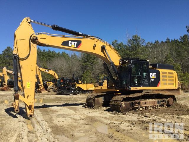 2018 Cat 349F L Track Excavator, Hydraulic Excavator