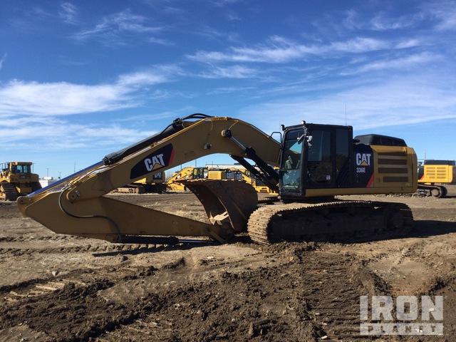 2013 Cat 336E L Track Excavator, Hydraulic Excavator