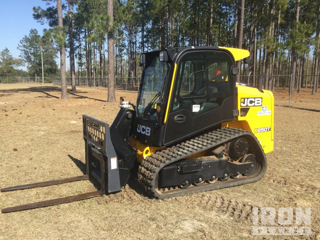 2019 (unverified) JCB 250T T4 Compact Track Loader, Compact Track Loader