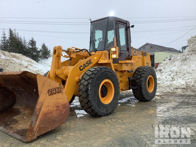 Case 721 Wheel Loader, Wheel Loader