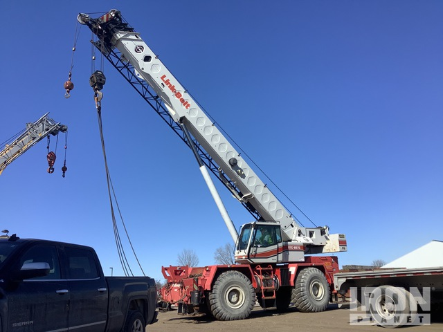 2006 Link-Belt RTC8075 75 ton 4x4x4 Rough Terrain Crane, Rough Terrain Crane