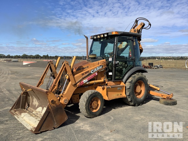 Case 580 Super M 4x4 Backhoe Loader, Loader Backhoe