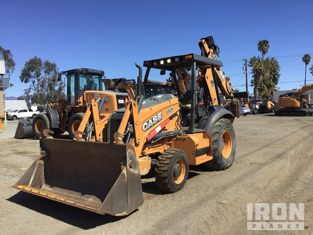 2015 (unverified) Case 580 Super N 4x4 Backhoe Loader, Loader Backhoe