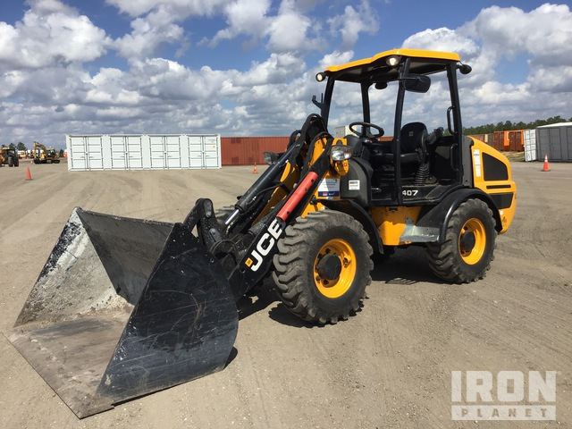 JCB 407 Wheel Loader, Wheel Loader