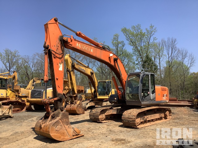 2011 Hitachi ZX200LC-3 Track Excavator, Hydraulic Excavator