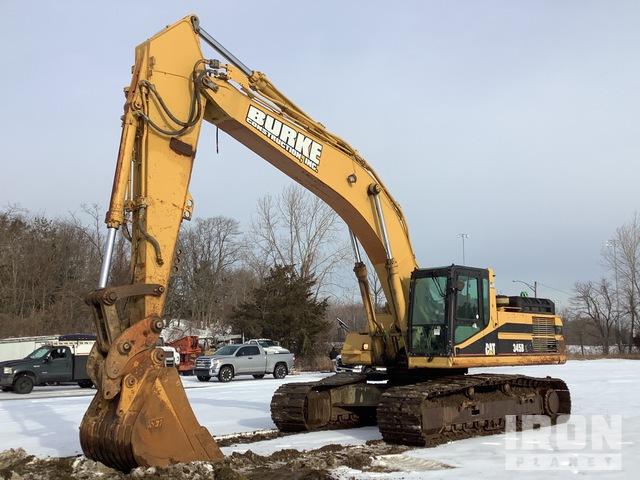 2003 Cat 345B L Track Excavator, Hydraulic Excavator