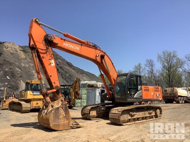 2013 Hitachi ZX350LC-5N Track Excavator, Hydraulic Excavator