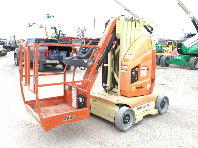 2013 (unverified) JLG Toucan 26E Vertical Mast Lift, Boom Lift