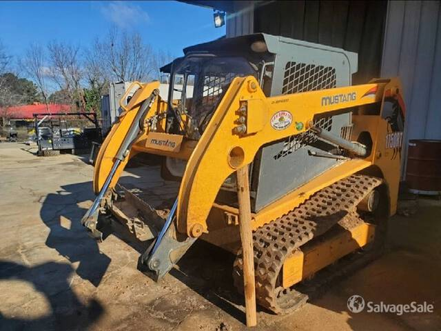 2015 (unverified) Mustang 1750RT Compact Track Loader, Compact Track Loader