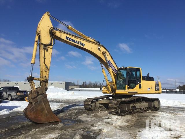 2009 Komatsu PC300LC-8 Track Excavator, Hydraulic Excavator
