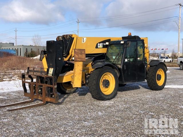 2014 (unverified) Cat TL1055C 4x4 10000 lb Telehandler, Telescopic Forklift