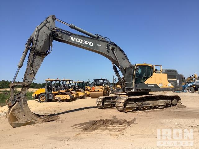 2015 Volvo EC480EL Track Excavator, Hydraulic Excavator