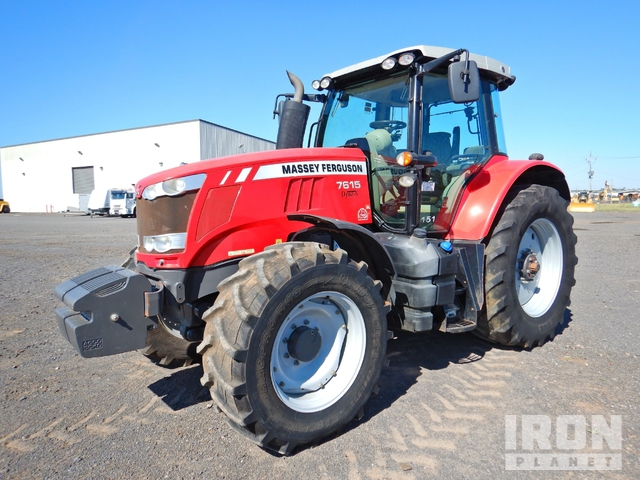 2014 Massey Ferguson 7615 4WD Tractor, MFWD Tractor