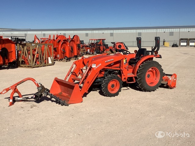 2020 Kubota L2501D 4WD Tractor, MFWD Tractor
