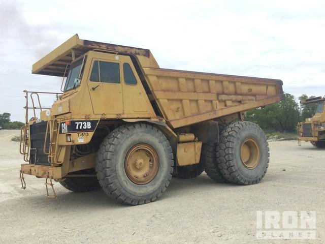 1996 Cat 773B Off-Road End Dump Truck, Rock Truck