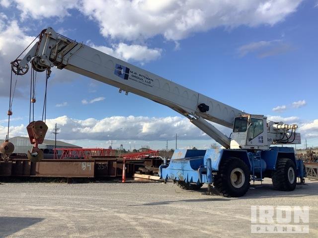 1988 Link-Belt RTC-8050 50 ton 4x4 Rough Terrain Crane, Rough Terrain Crane