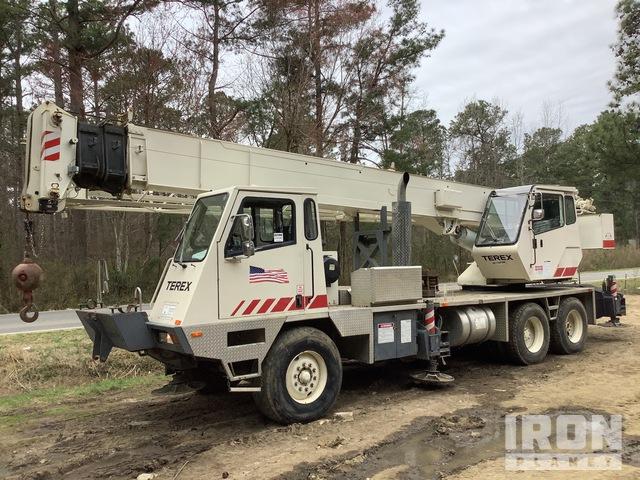 1998 (unverified) Terex 428 Hydraulic Truck Crane, Hydraulic Truck Crane