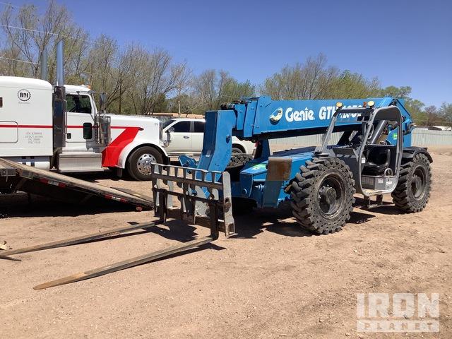 2013 Genie GTH1056 4x4 10000 lb Telehandler, Telescopic Forklift