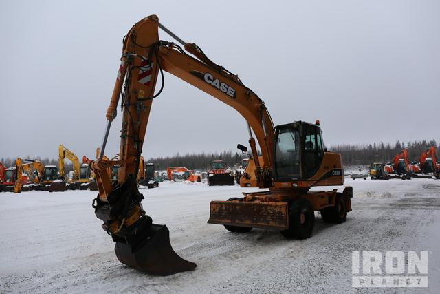 2004 Case WX185 Wheel Excavator, Mobile Excavator